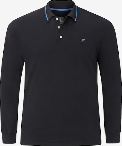 Jan Vanderstorm Poloshirt ' Ellis ' in blau / schwarz, Produktansicht