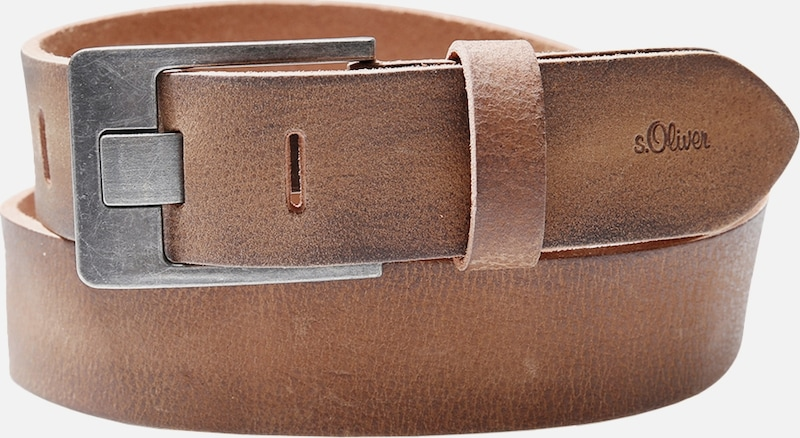 S.oliver Red Label Ceinture Distinctive En Cuir