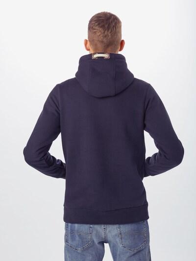JACK & JONES Sweatshirt 'TOM' in de kleur Navy: Achteraanzicht