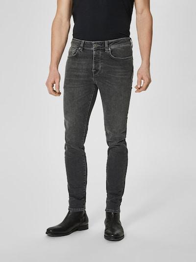 SELECTED HOMME Jeans 'SHNSKINNY-PETE' in grey denim, Modelansicht