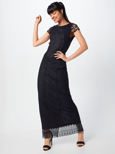 MICHALSKY FOR ABOUT YOU Kleid 'Noemi' in schwarz: Frontalansicht
