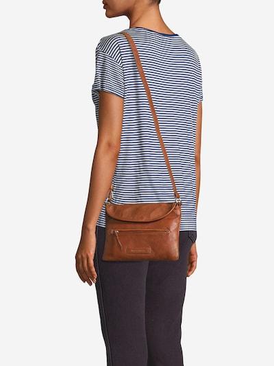FREDsBRUDER Torba na ramię 'Melt' w kolorze brązowym: Widok z przodu