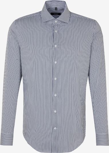SEIDENSTICKER Zakelijk overhemd 'Tailored' in de kleur Blauw: Vooraanzicht