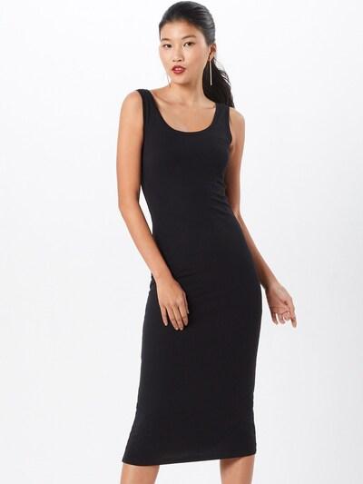 modström Robe 'Tulla X-Long' en noir, Vue avec modèle