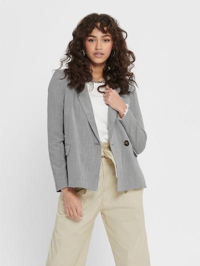 ONLY Blazers 'ONQMIRANDA L/S BLAZER TLR' in de kleur Grijs, Modelweergave
