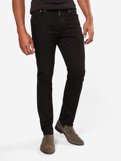 LEVI'S Jeans in black denim, Modelansicht