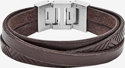 FOSSIL Armband in dunkelbraun, Produktansicht