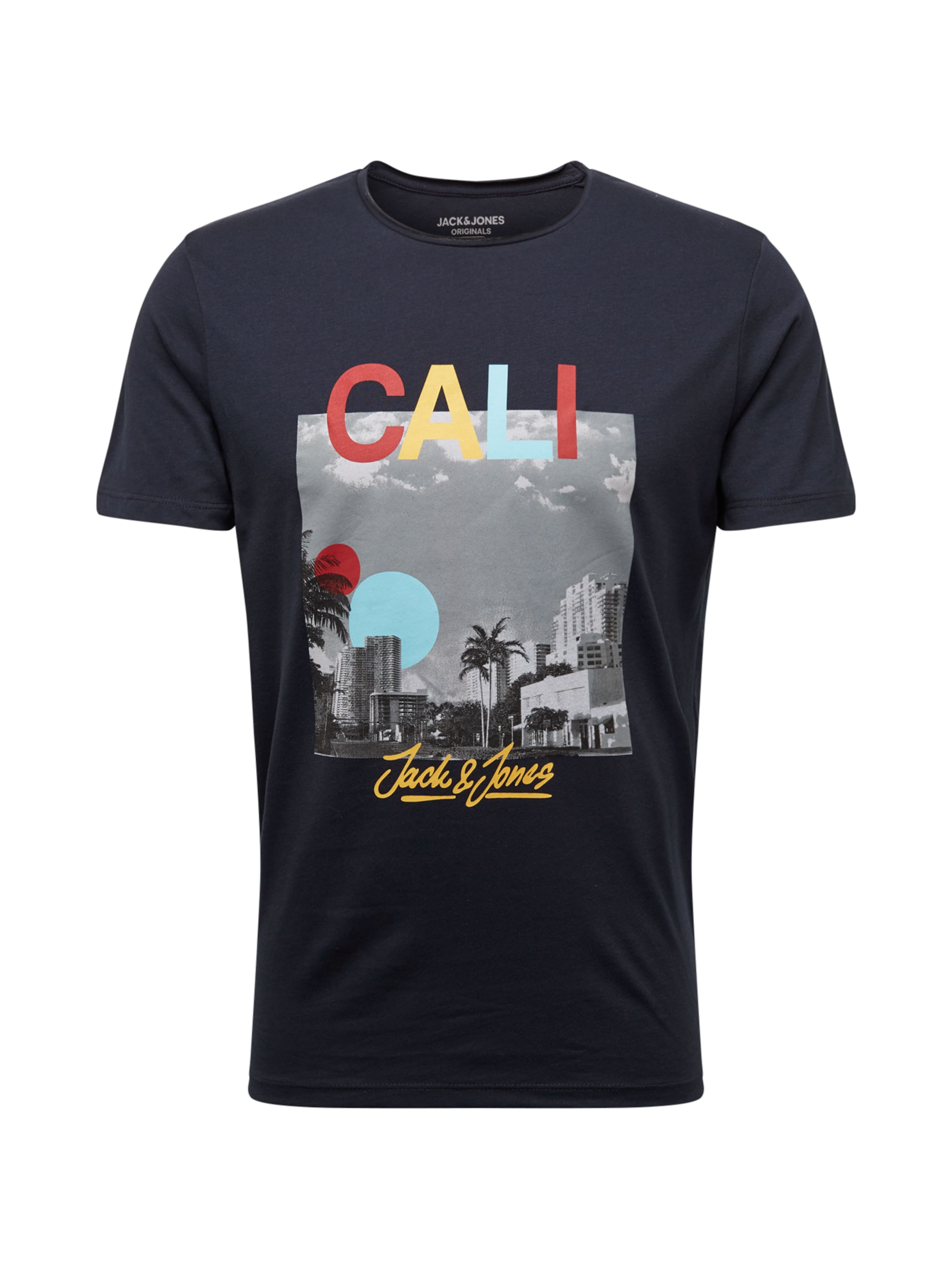 T shirt En Jackamp; Mélange Bleu 'jorendless' FoncéGris Jones Couleurs De 76bfyg