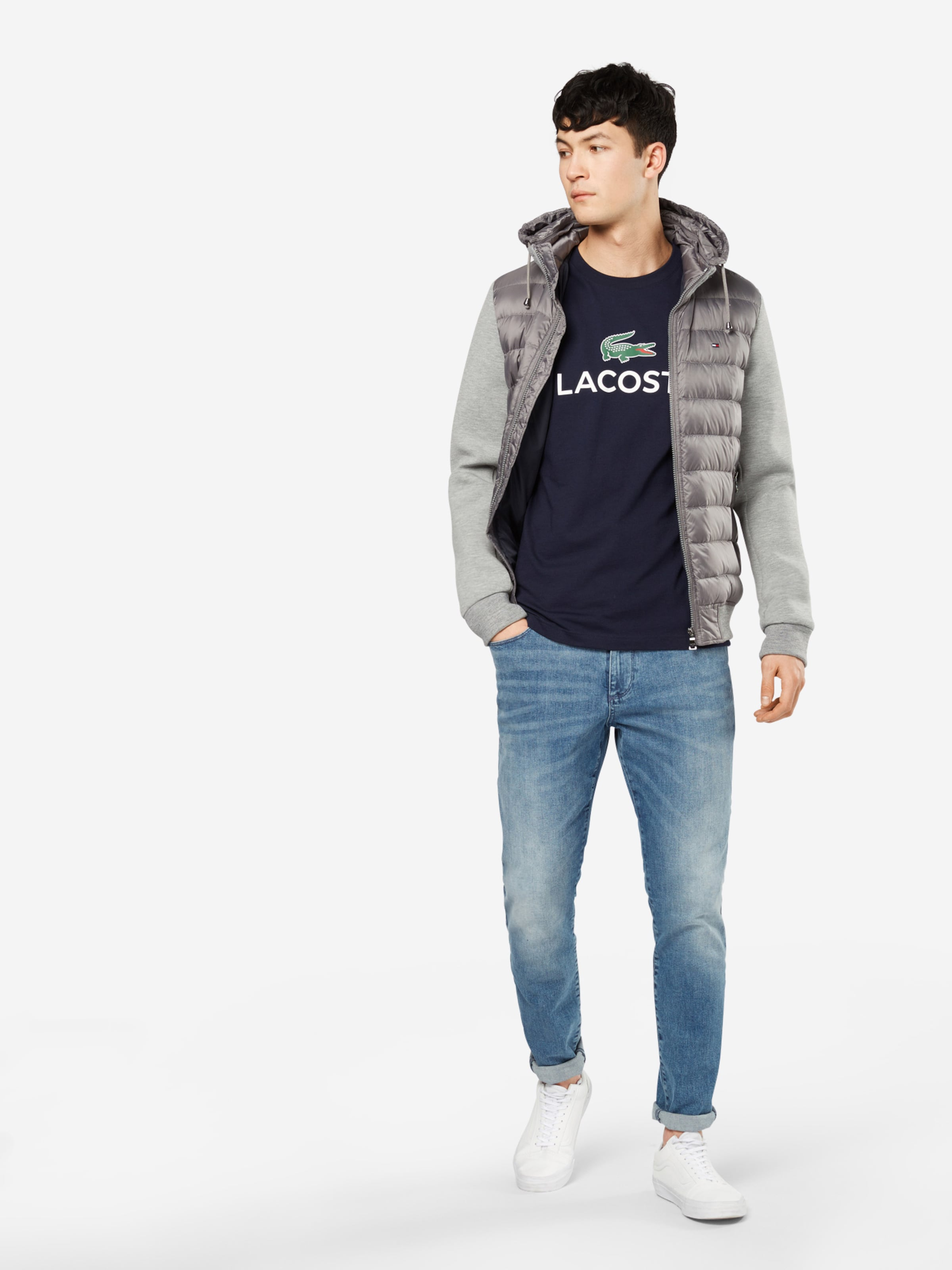 Billig Verkauf Für Billig LACOSTE T-Shirt Rabatt Niedrig Kosten Billig Verkauf Versand Niedriger Preis Gebühr Limitierte Auflage Online-Verkauf n7txVVFC