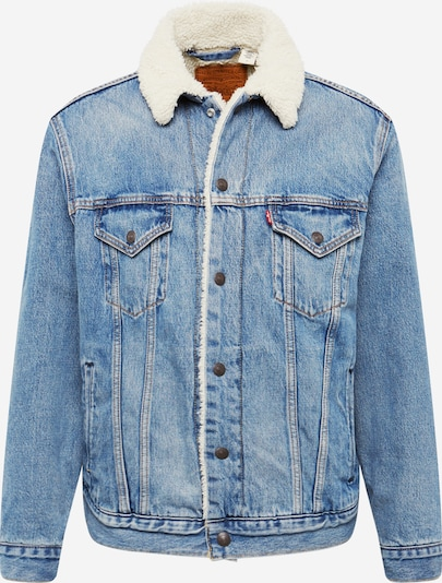 LEVI'S Jacke 'VIRGIL SHERPA TRUCKER' in blue denim, Produktansicht