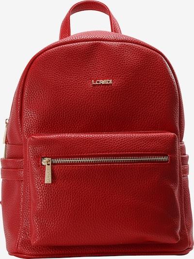 L.CREDI Cityrucksack 'Ella' in rot, Produktansicht