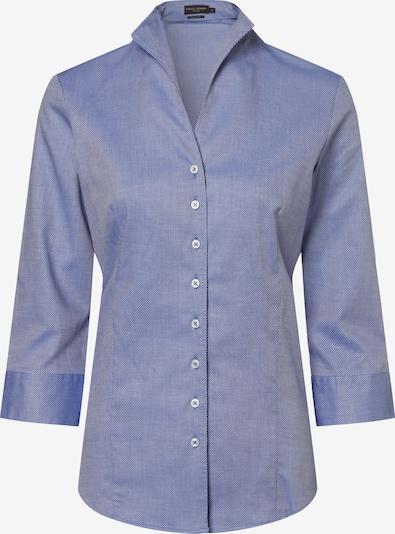 Franco Callegari Bluse in blau, Produktansicht