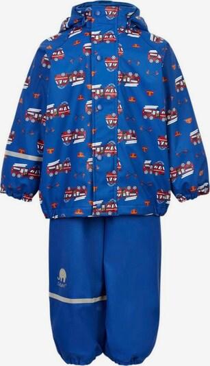 CELAVI Regenanzug in royalblau / rot / weiß, Produktansicht