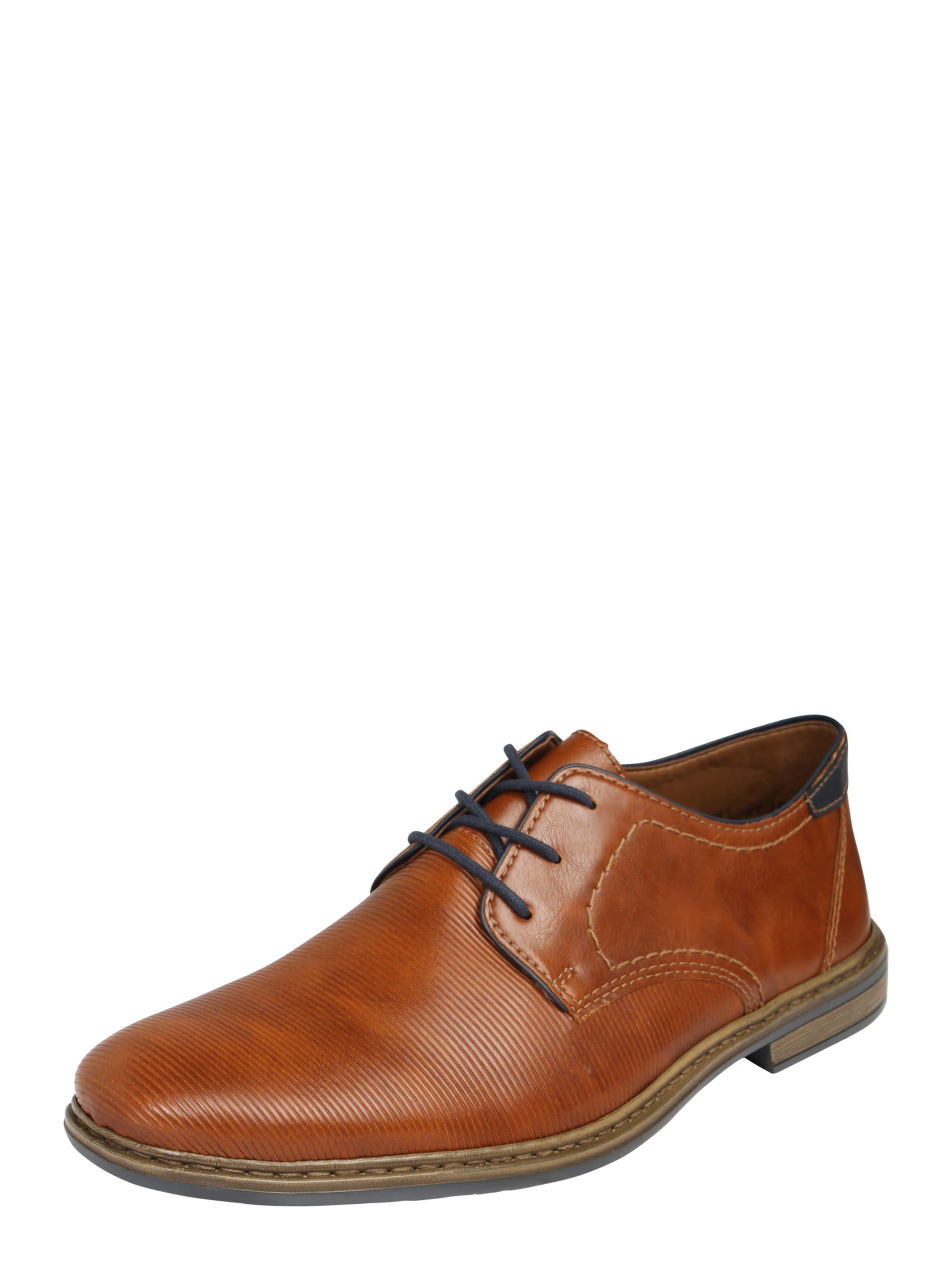 RIEKER Schnürschuh aus Schuhe Kunstleder Verschleißfeste billige Schuhe aus e4aac7