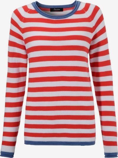 Aniston CASUAL Pullover in blau / rot / weiß, Produktansicht