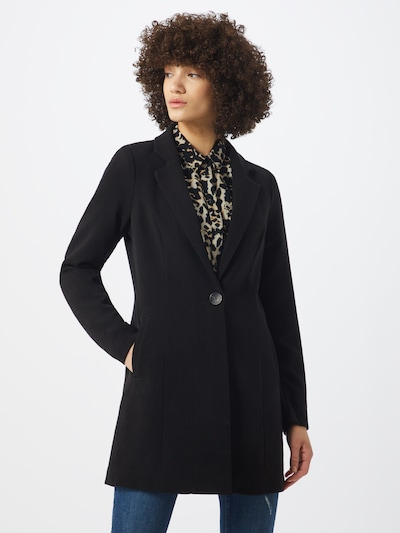 ONLY Mantel 'ONLSAVANNAH SPRING COAT' in schwarz, Modelansicht
