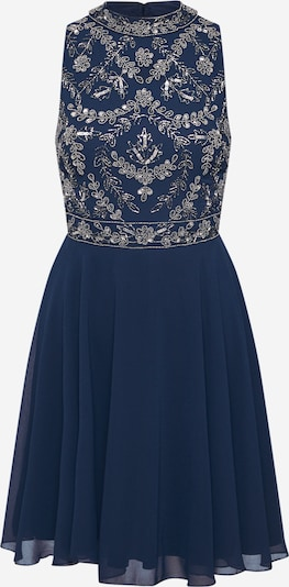 LACE & BEADS Kleid 'Agnes' in navy / silber, Produktansicht