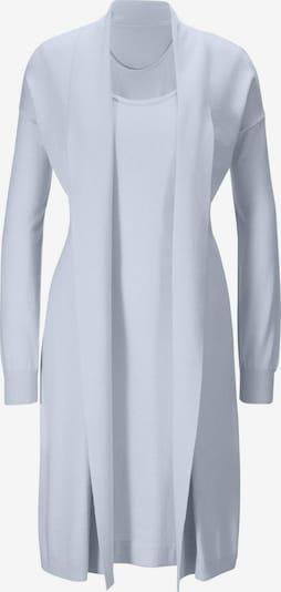 heine Robes en maille en gris clair, Vue avec produit