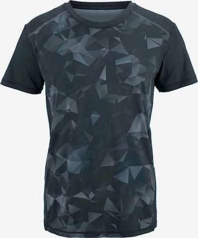 BUFFALO T-Shirt aus kühlender Microfaser in schwarz, Produktansicht