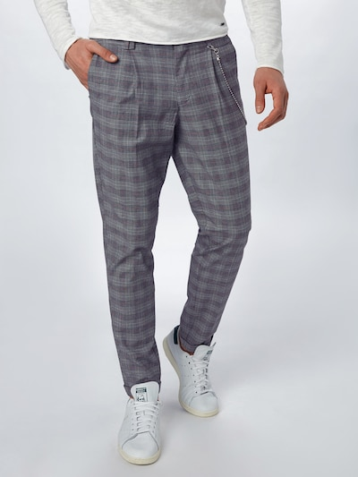 JACK & JONES Hose in grau, Modelansicht