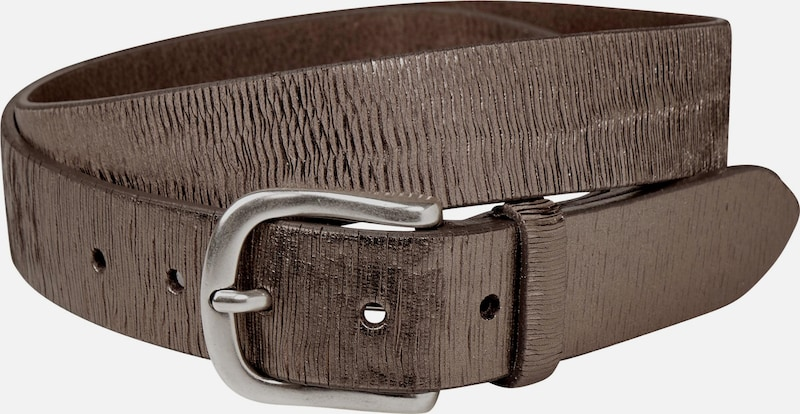 Street One Bronze Leather Belt
