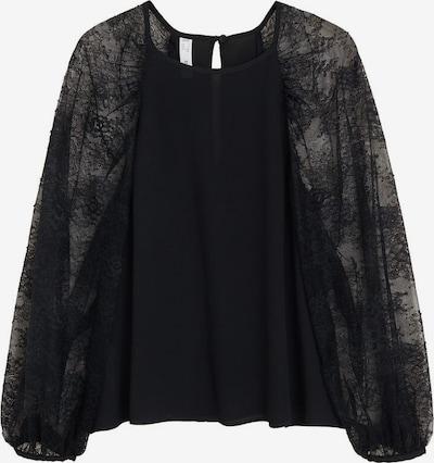 MANGO Bluzka 'Bimat' w kolorze czarnym, Podgląd produktu