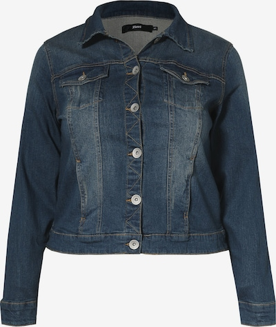 Zizzi Jeansjacke in blue denim, Produktansicht