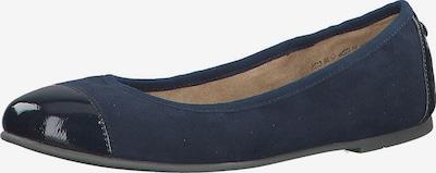 s.Oliver Klassische Ballerinas in blau / dunkelblau, Produktansicht