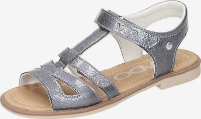 Vado Sandale in grau, Produktansicht