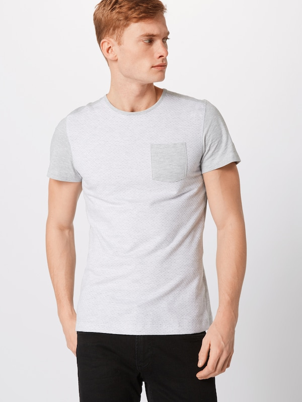 En Gris Tailor shirt ClairBlanc Chiné Tom T WHIYE2D9