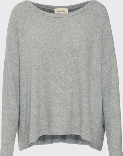 AMERICAN VINTAGE Sweatshirt 'VETINGTON' in de kleur Grijs, Productweergave