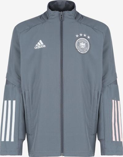 ADIDAS PERFORMANCE Sportjas 'DFB EM 2020' in de kleur Grijs / Wit, Productweergave