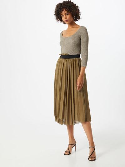 PATRIZIA PEPE Kleid in beige / khaki / schwarz, Modelansicht