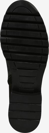 MJUS Schnürstiefelette in schwarz: Ansicht von unten