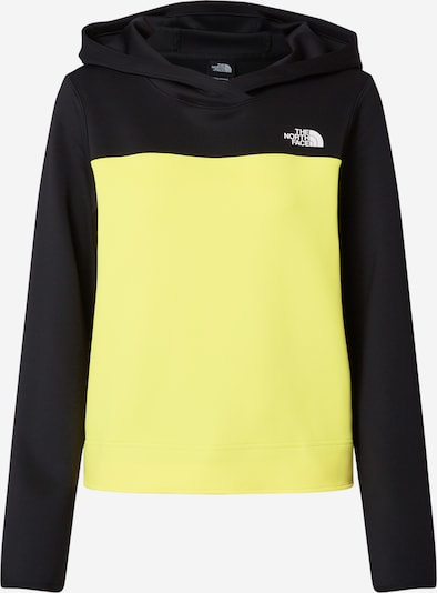 THE NORTH FACE Sweatshirt 'ACTIVE TRAIL SPACER' in gelb / schwarz, Produktansicht
