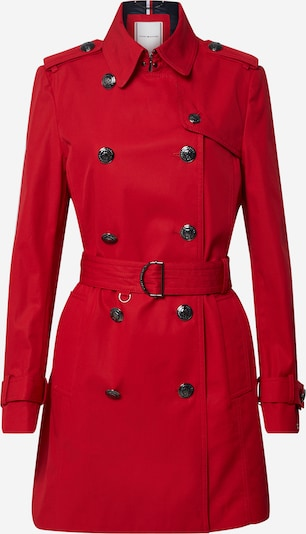 TOMMY HILFIGER Trenchcoat in rot, Produktansicht