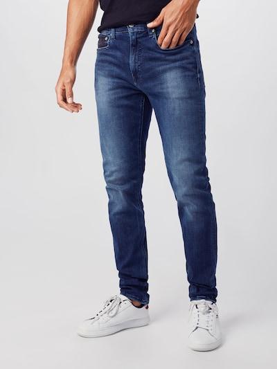Calvin Klein Jeans Jeansy w kolorze niebieski denimm, Podgląd na modelu(-ce)