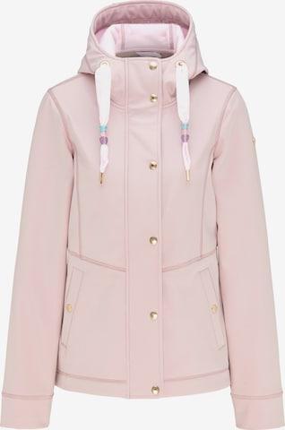 MYMO Toiminnallinen takki värissä vaaleanpunainen