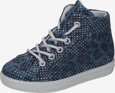 RICOSTA Halbschuhe in taubenblau / dunkelblau, Produktansicht