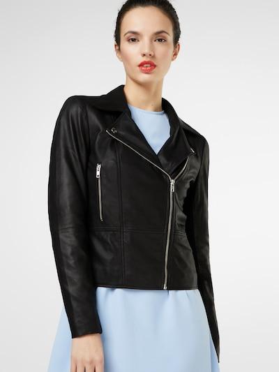 Y.A.S Prehodna jakna | črna barva: Frontalni pogled