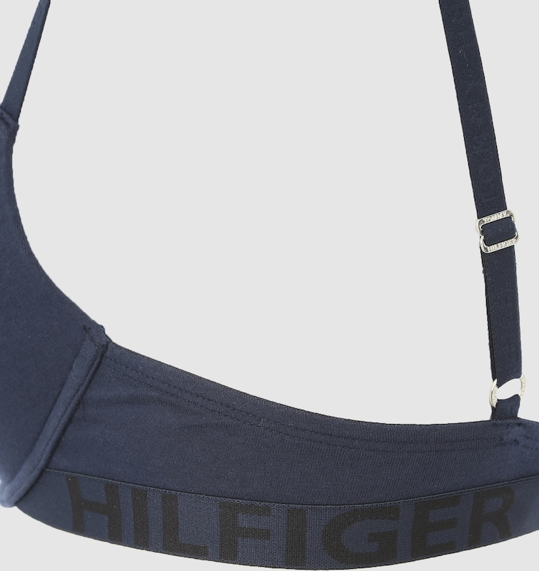 Tommy Hilfiger Underwear Push-up-BH mit Logobündchen