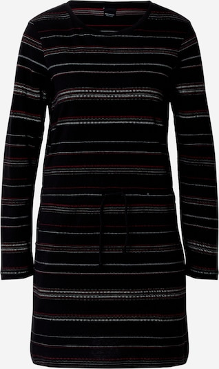Iriedaily Knit dress 'Swani' in red / black / white, Item view