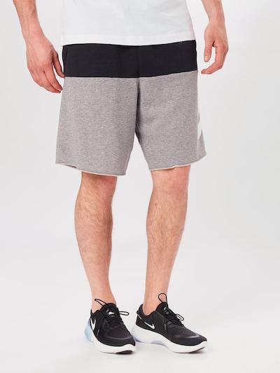 Nike Sportswear Püksid 'Alumni' meleeritud hall / must / valge: Eestvaade