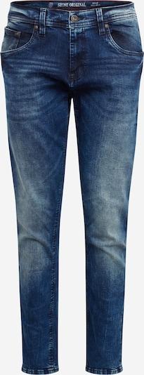 Jeans SHINE ORIGINAL pe denim albastru, Vizualizare produs