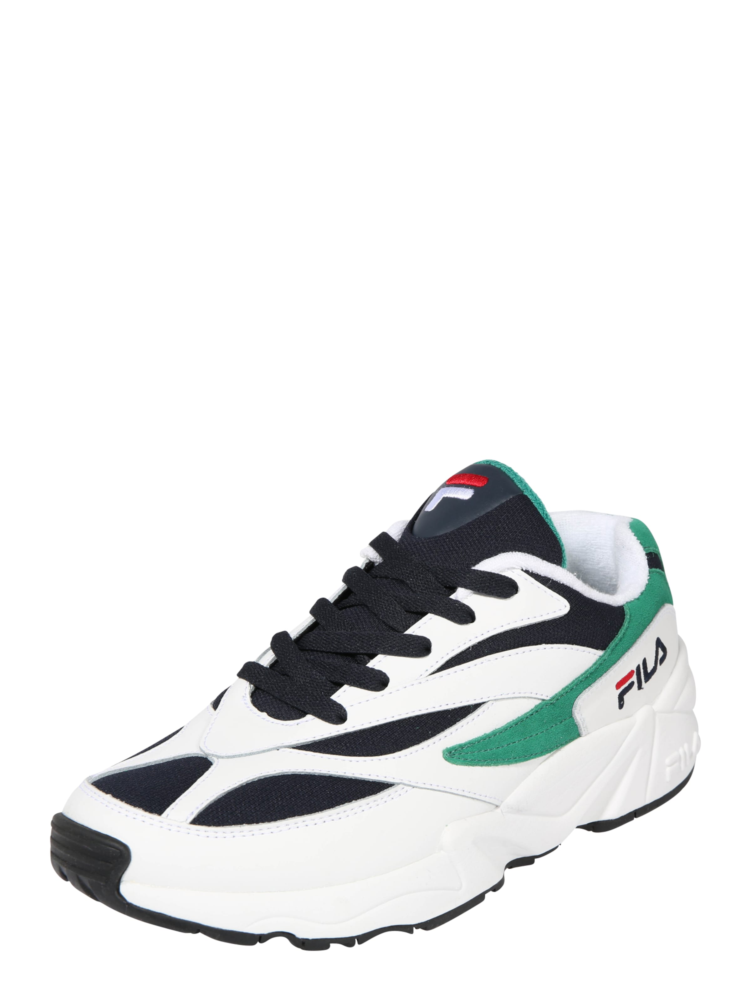 En 'venom Bleu Basses Fila Low' MarineVert Blanc Baskets Fu3lJT15Kc