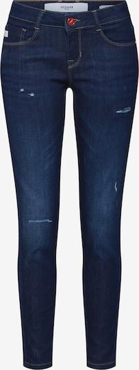 Goldgarn Jeans 'JUNGBUSCH' in blau / rot, Produktansicht