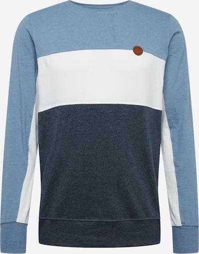 Alife and Kickin Sweatshirt 'Wilson' in rauchblau / nachtblau / weiß, Produktansicht