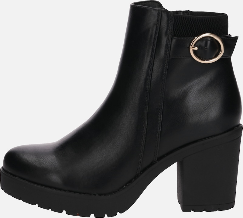 Field Bottines 't7007 103' En Noir Anna 54RqAL3j