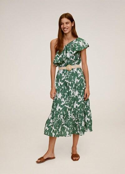 MANGO Obleka za na plažo | zelena barva, Prikaz modela