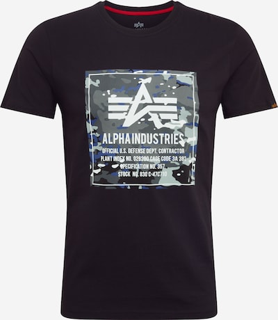 ALPHA INDUSTRIES T-Shirt in schwarz, Produktansicht
